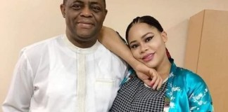Femi Fani-Kayode and his fourth wife Precious Chikwendu have parted ways over domestic violence