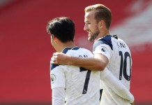 Harry Kane provided all four assists for Son Heung-min
