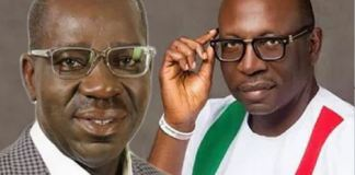 Governor Godwin Obaseki and Pastor Osagie Ize-Iyamu are the two leading contenders in the Edo polls