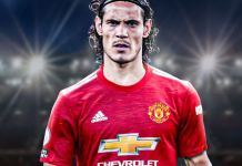 Edison Cavani has signed a one-year deal at Manchester United1