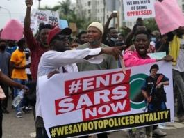 #EndSARS protesters across Nigeria are calling for an end to police brutality Lekki youths