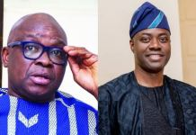 Former Ekiti governor, Ayodele Fayose and Governor Seyi Makinde of Oyo have traded words over PDP Southwest leadership