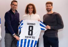 Matteo Guendouzi has joined Hertha Berlin on loan