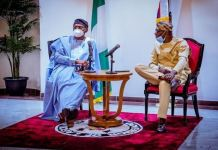 Speaker Femi Gbajabiamila visited Governor Babajide Sanwo-Olu of Lagos state