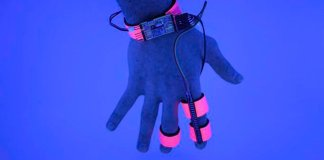 The glove, named the Dormio, records users as they begin dreams before falling fully asleep - a state known as hypnagogia