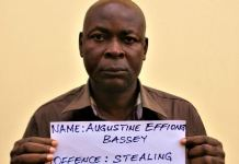 Augustine Effiong Bassey has been jailed for stealing N27 million