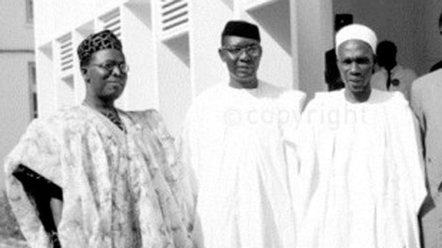 Chief Obafemi Awolowo, Dr Nnamdi Azikiwe and Tafawa Balewa