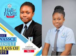 Chisom Chukwuneke had best WASSCE result in her school with seven A1s