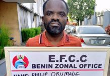 Former First Bank staff Philip Orumade arraigned for stealing