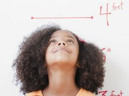 Poor diets for school-age children may contribute to an average height gap of 20cm