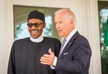 President Muhammadu Buhari and President-Elect Joe Biden