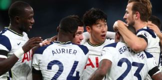 Tottenham beat Manchester City to go top of the table