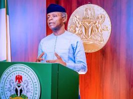 Vice President Yemi Osinbajo SAN launches the Clean Nigeria Campaign; Project Flush IT Initiative organized by OPS- WASH.