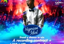 Nigerian Idol Season 6 winner will get a recording contract and N50 million worth of prizes
