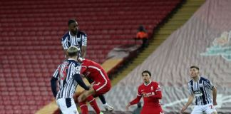 Semi Ajayi grabbed a late equaliser against Liverpool to hand Sam Allardyce his first point as West Brom manager