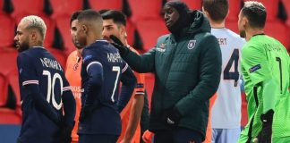 PSG and Basaksehir players in controversy with officials
