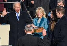 Joe Biden was sworn in on a family Bible used by his son Beau1