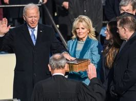 Joe Biden was sworn in on a family Bible used by his son Beau1