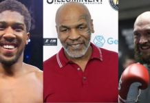 Anthony Joshua, Mike Tyson, Tyson Fury