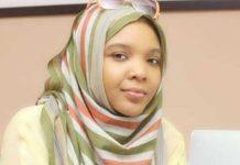 Saadat Aliyu, founder of Helpio app