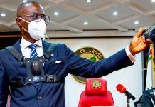 Sanwo Olu puts on a Body cam