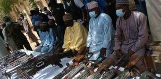 Four Bandit leaders surrender in Katsina