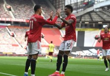 Greenwood scored twice for Man Utd against Burnley