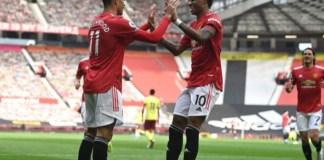 Greenwood scored twice for Man Utd against Burnley