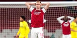 Arsenal lose to Villarreal
