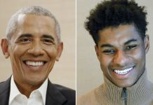Barack Obama and Marcus Rashford shared their experiences of growing up