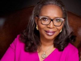 Former First Bank Chairman, Mrs. Ibukun Awosika