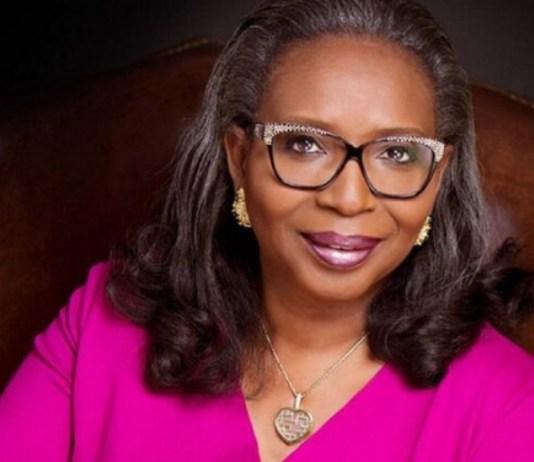 Former First Bank Chairman, Mrs. Ibukun Awosika
