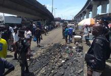 Lagos taskforce has served Iganmu under bridge squatters a quit notice