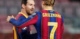 Lionel Messi and Griezmann