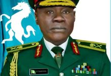 Major General Farouk Yahaya appointed as the new Chief of Army Staff