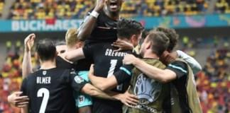 Austria win their first European championship match