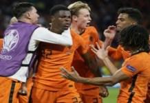 Netherlands beat Ukraine in five-goal thriller
