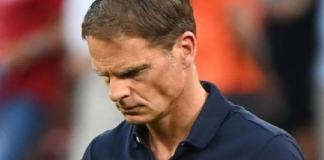 Netherlands boss, Frank De Boer resigns
