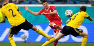 Poland exit from Euro 2020 after loss to Sweden