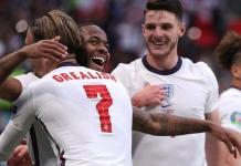 Raheem Sterling has scored both of England's goal at the Euro 2020