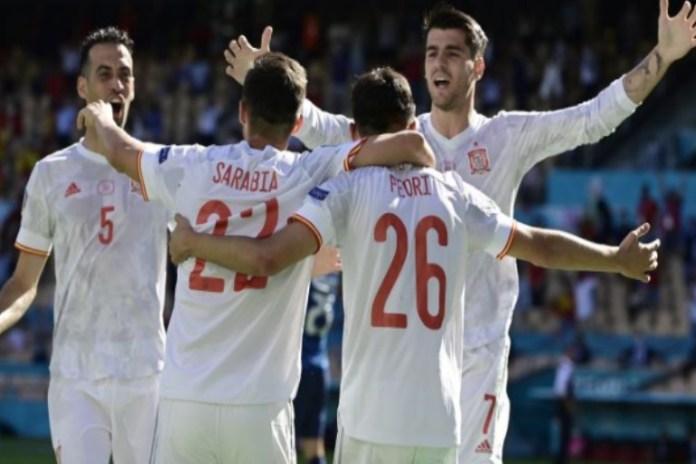 Spain thrashed Slovakia 5-0 in Euro 2020