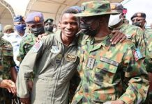 Nigerian Air Force pilot, Abayomi Dairo, rescued after near death experience