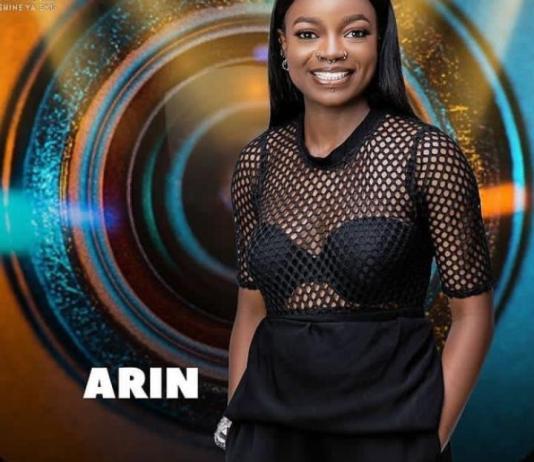 Arin is a housemate in BBNaija Season 6
