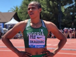 Blessing Okagbare olympics