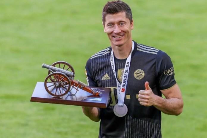 Robert Lewandowski named German player of the year