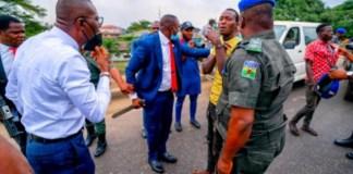 Sanwo-Olu's convoy arrests suspected armed robbers
