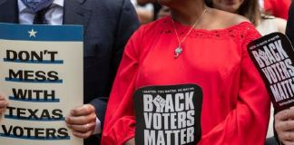 The proposed legislation would restrict voting rights in the state Democrats Texas Republicans