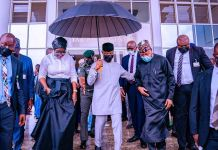 Vice President Yemi Osinbajo launches National Leather and Leather Products Policy Implementation Plan in Abuja