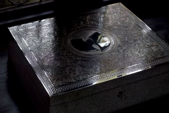 Only one copy of WuTang Clan's Once Upon a Time in Shaolin album was produced