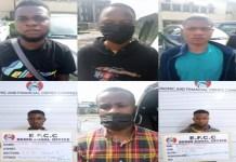 27 internet fraudsters were jailed in Port Harcourt